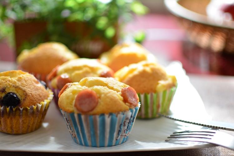 【はちみつ入りマフィン】お菓子レシピ♪はちみつの自然な甘さがGoodなお手軽マフィンです。
