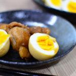 焼かずにつくる照り焼きチキンの作り方♪ゆで卵にもしっかり味が染み込んだ子供に人気のレシピ♬