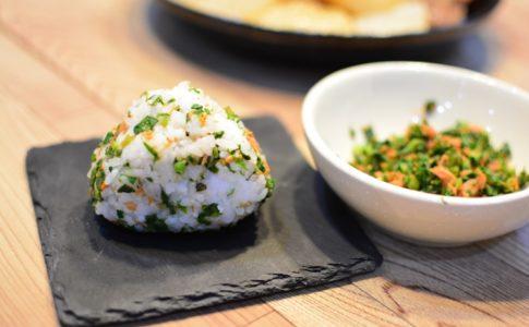 大根菜と鮭のフレークのレシピ♪ご飯のふりかけやおにぎりに♬