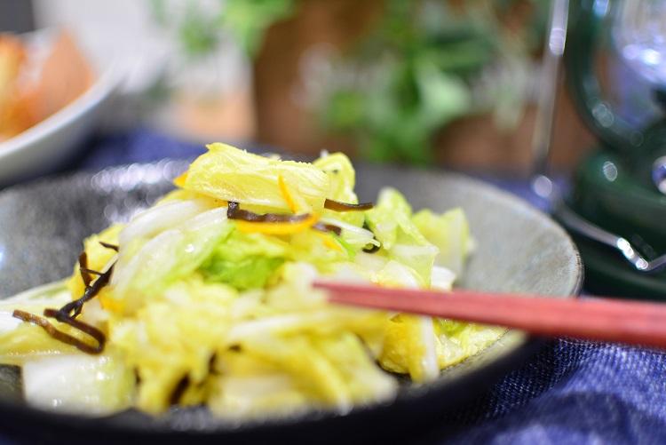 常備菜に♬クセになるおいしさ★ゆず白菜のレシピ★