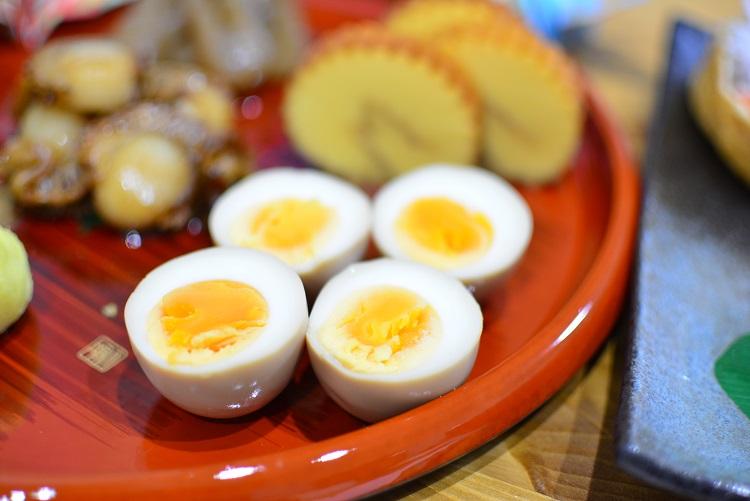 おせち料理にも♬おつまみにも♬簡単煮卵のレシピ★